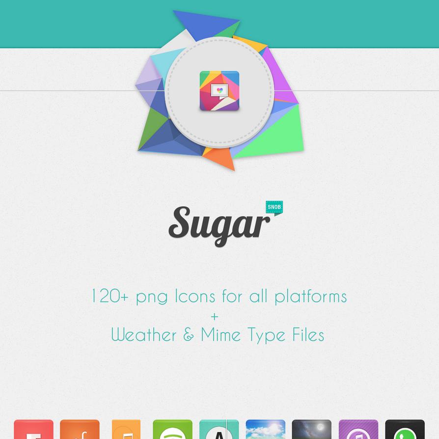 Sugar Icons 1.6 by SNOBAwM