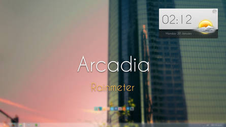 Arcadia Rainmeter