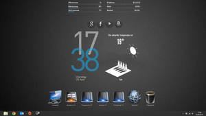Simple Rainmeter Theme by TimmePfeife