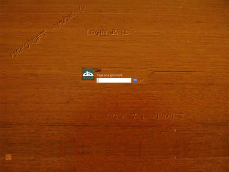 Wood logon