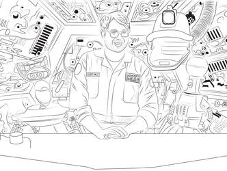 MST3K The Return SOL Crew by LoverMoonstar