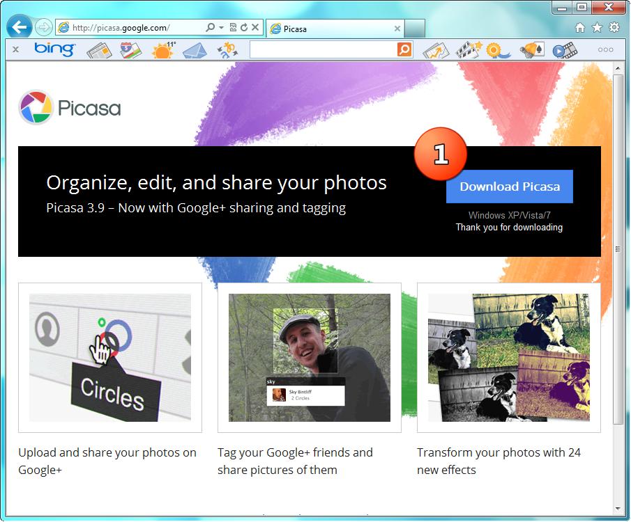 Instalarea programului Picasa versiunea 3.9 by Nemesis777