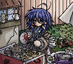 anime gif -garden by 0Kikyo