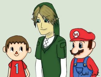 Super Smash Brothers 4 by Fullmetal-Link