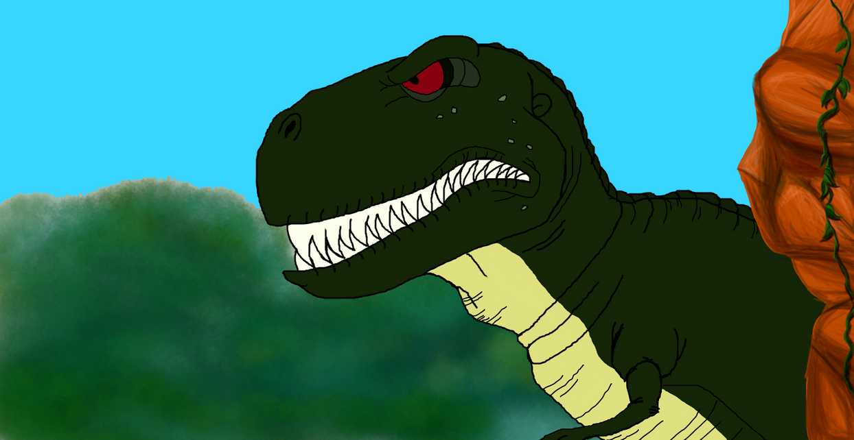 Sharptooth by TimeToGoHero on DeviantArt