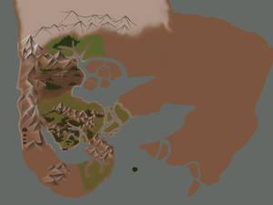 Gonvas World Map in progress