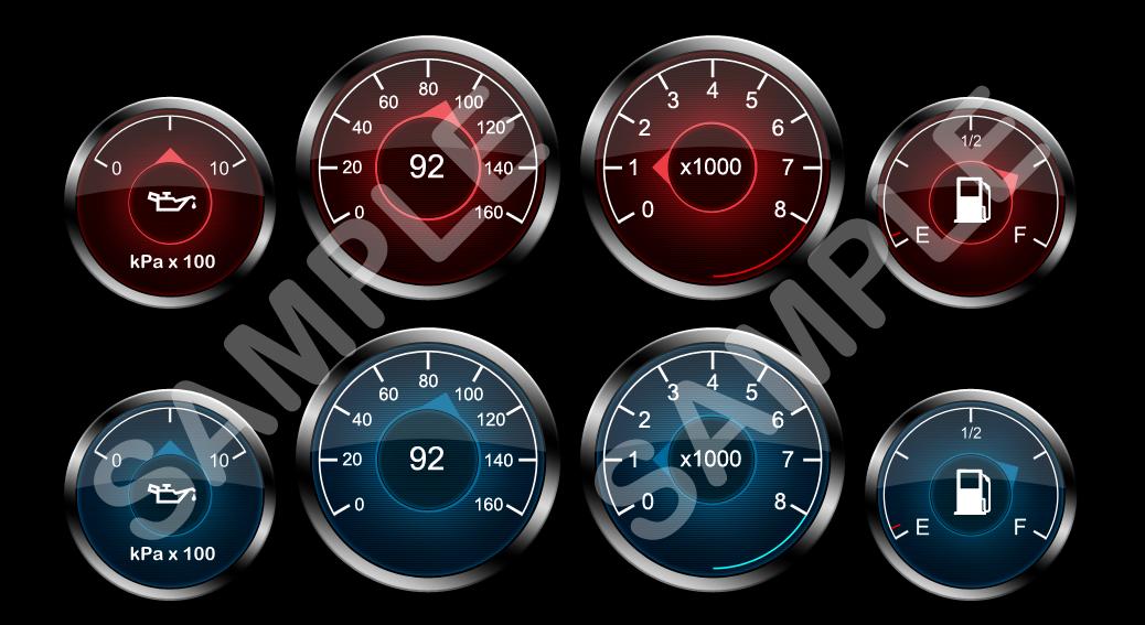Car-gauges by xxdigipxx