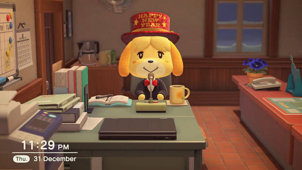 Isabelle's New Year's Eve Announcement