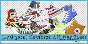 [PNG Pack] Converse All Star Shoes
