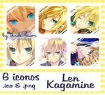Len Kagamine Iconos