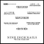 Nine Inch Nails text brushes