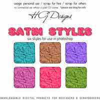 Satin Photoshop Styles