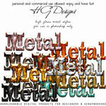 High Gloss Metal Styles