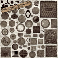 PS Brushes: Metal Parts by HGGraphicDesigns