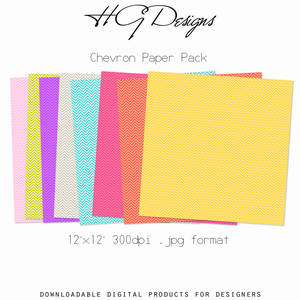 Chevron Paper Pack