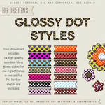 PS Styles: Glossy Dots