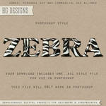 PS Style: ZEBRA