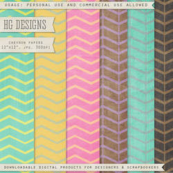 Paper Backgrounds: Chevrons