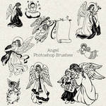 PS Brushes: Angels