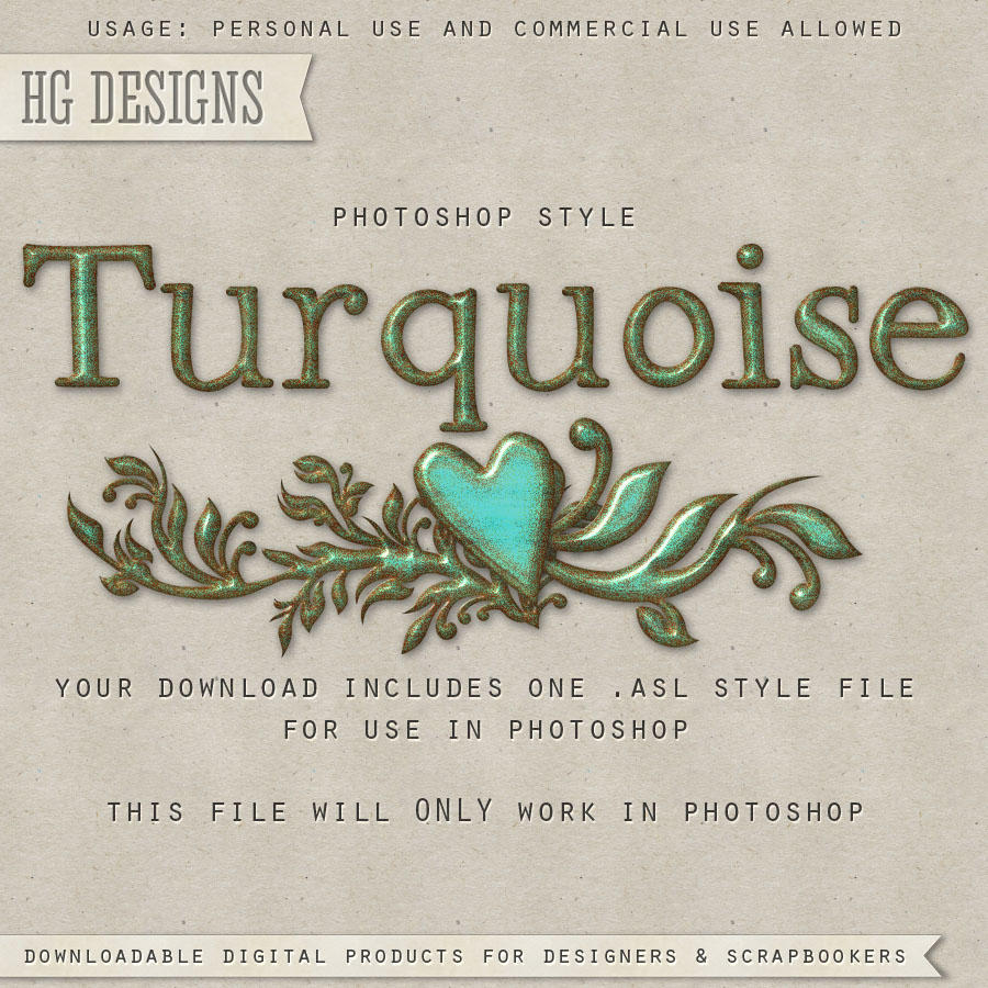 PS Style: TURQUOISE