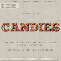 PS Style: CANDIES by HGGraphicDesigns