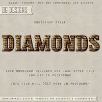 PS Style: DIAMONDS by HGGraphicDesigns