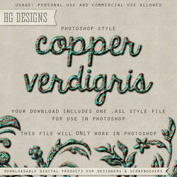 PS Style: COPPER VERDIGRIS