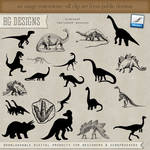 PS Brushes: Dinosaurs