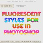 Fluorescent Layer Styles