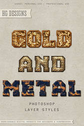 PS Style: Gold And Metal