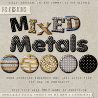 PS Style: Mixed Metals by HGGraphicDesigns