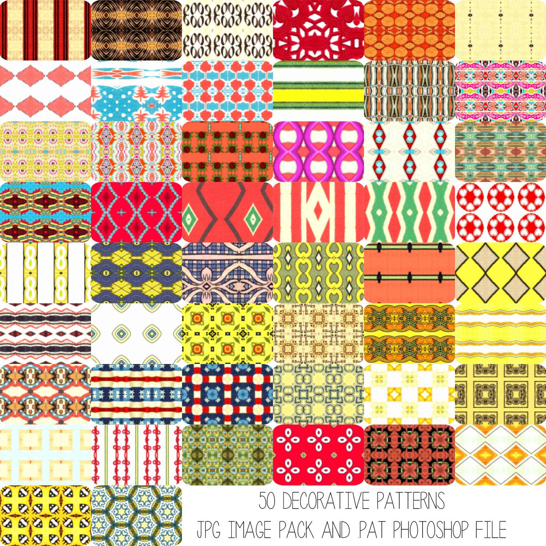 Deco Patterns Set 1
