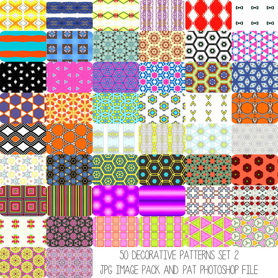 Deco Patterns Set 2 by HGGraphicDesigns