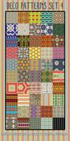 Deco Patterns Set 4