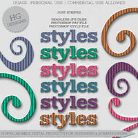 STYLES: Just Stripes by HGGraphicDesigns