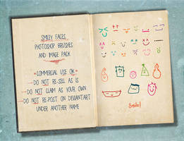 Smiley Photoshop Brushes by HGGraphicDesigns