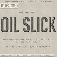 PS Style: Oil Slick by HGGraphicDesigns