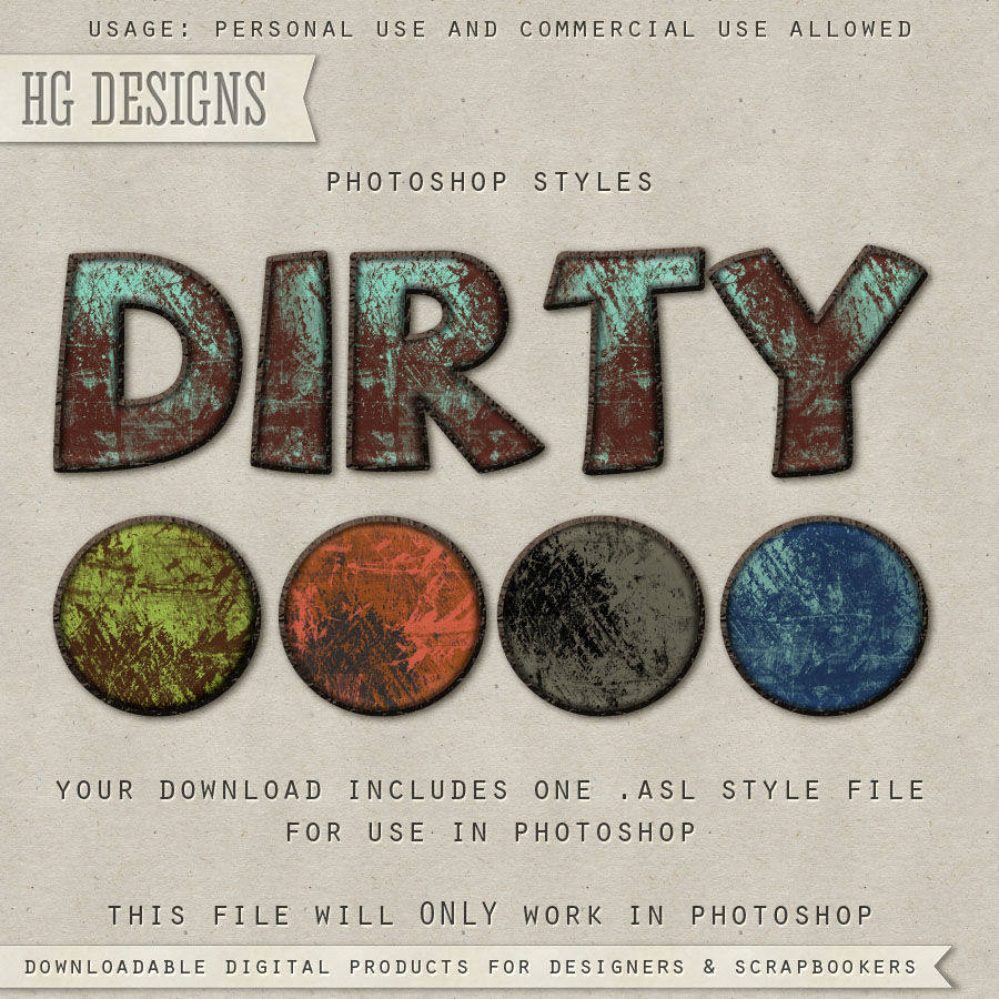 PS Style: Dirty
