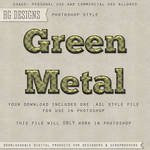 PS Style: Green Metal