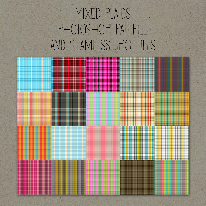 Patterns: Mixed Plaids