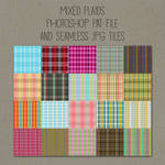 Patterns: Mixed Plaids