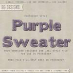 PS Style: Purple Sweater
