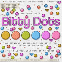 PS Style: Bitty Dots by HGGraphicDesigns