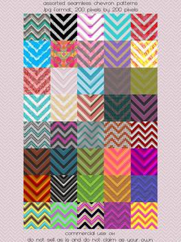 Pattern: Assorted Chevrons