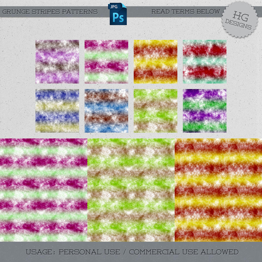 Patterns: Grunge Stripes by HGGraphicDesigns