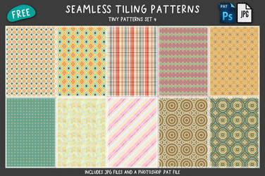 Free Tiny Patterns Set 4