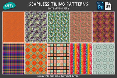 Free Tiny Patterns Set 5
