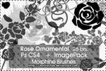 Rose Ornamental Brushes