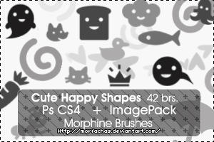 Cute Happy Brushes by morfachas
