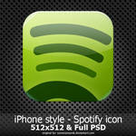 iPhone style - Spotify